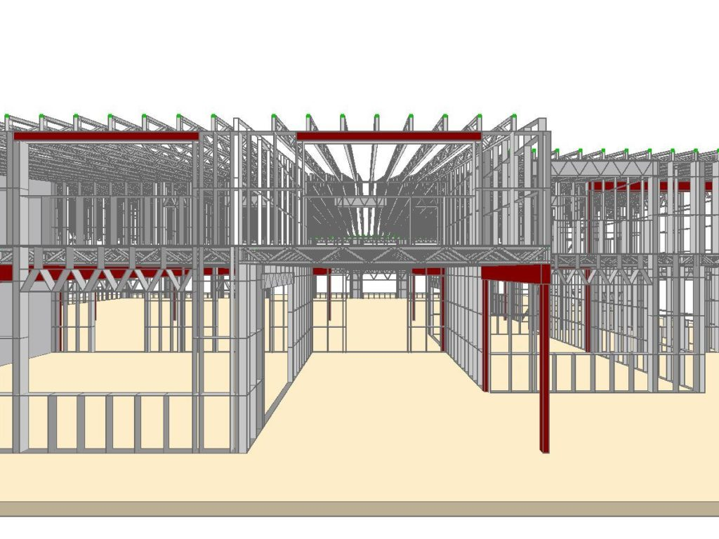Steel Construction 3d Design Software By Scottsdale