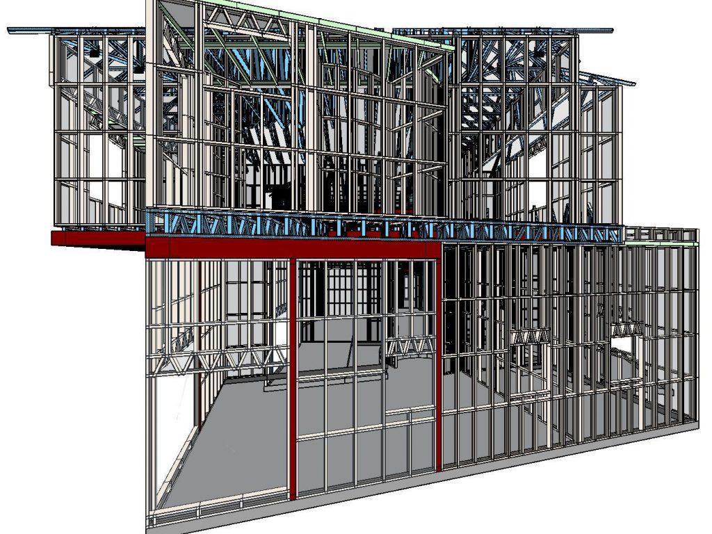 Steel Construction 3D Design Software by Scottsdale