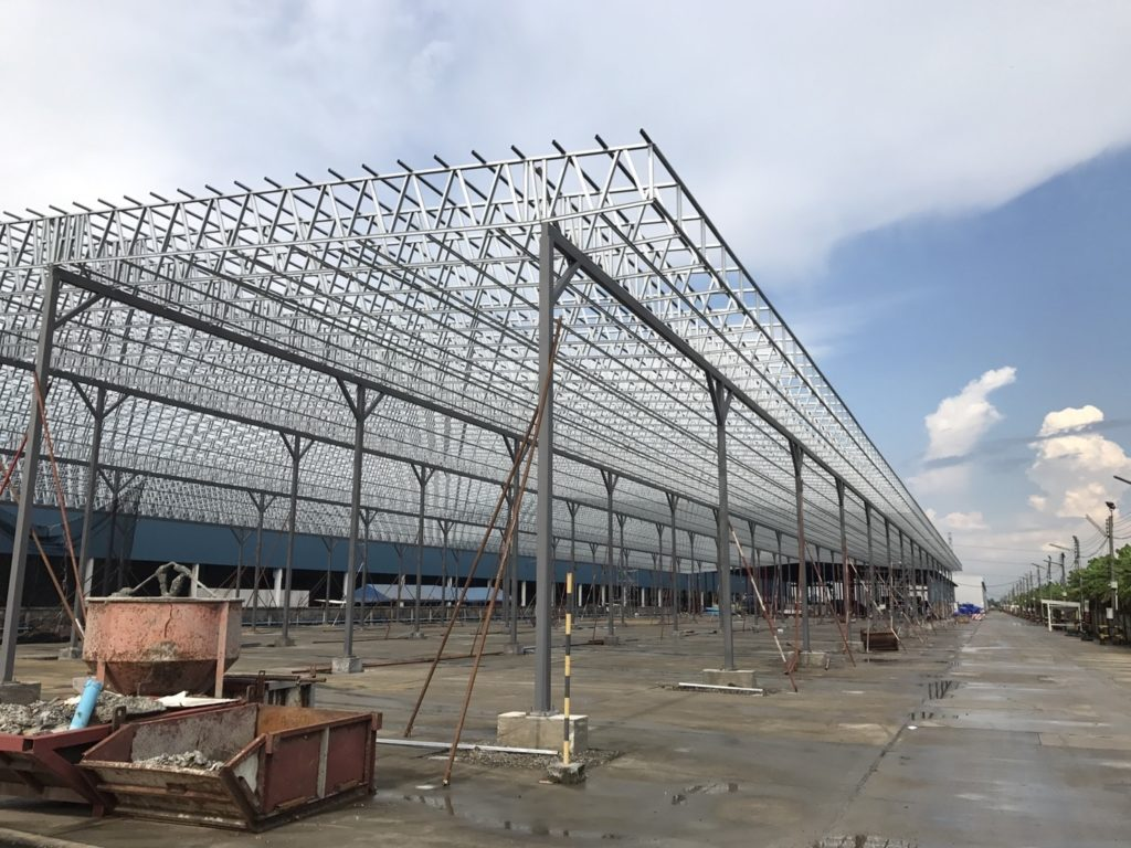Commercial Wide Span Trusses Bangkok Thailand