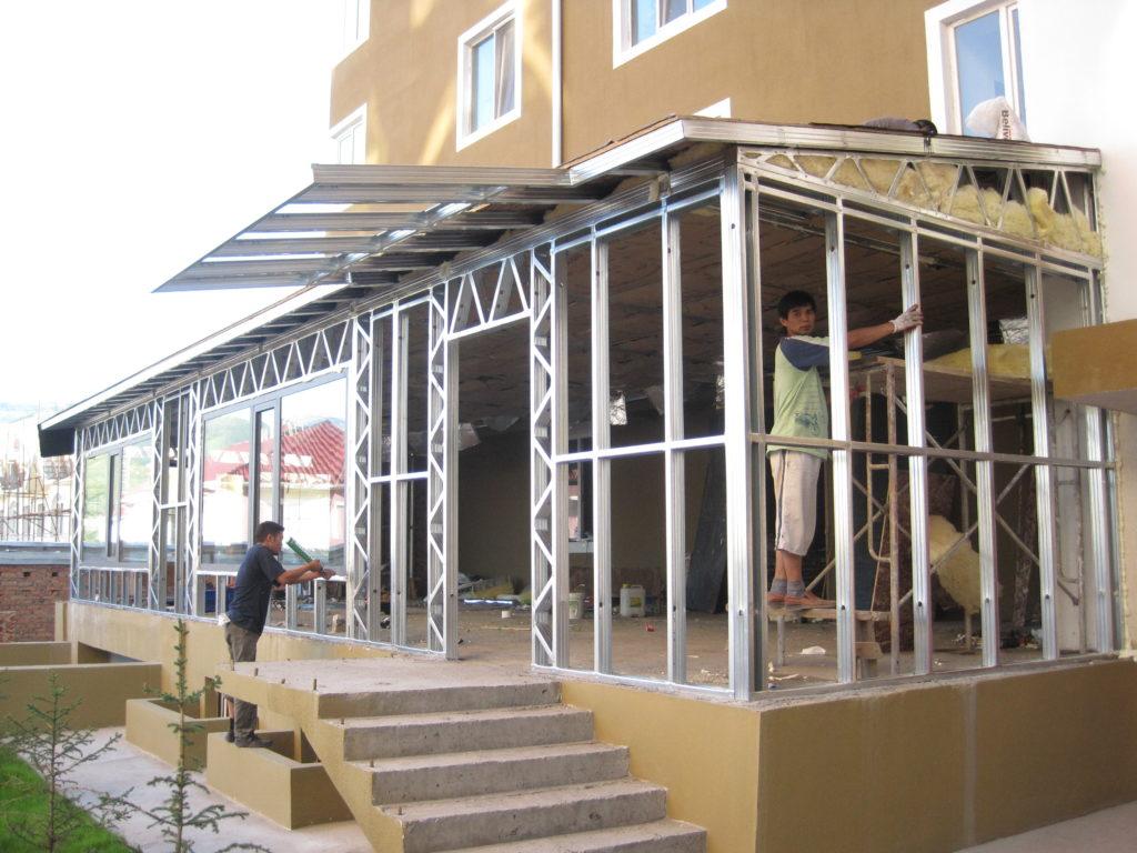 Steel Frame Building Mongolia Ulaanbaatar Mongolia