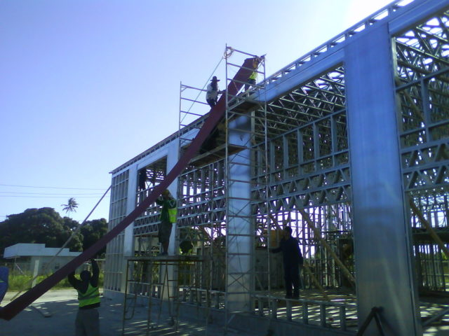 Scottsdale Construction Systems Steel Frame Rollforming