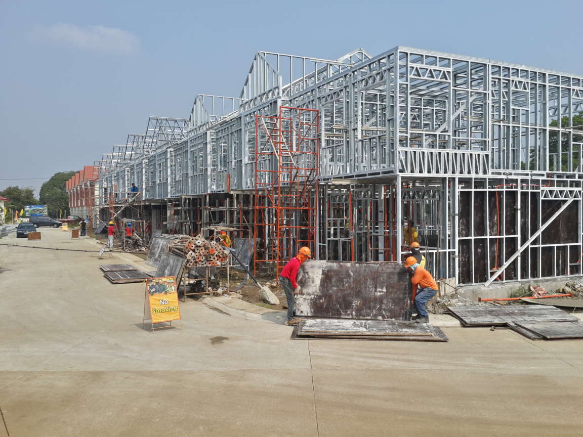 Acasys Group Sdn Bhd Steel Frame House Project Philippines